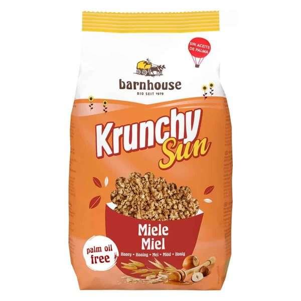 Muesli Krunchy Sun Honey bio Barnhouse 375gr