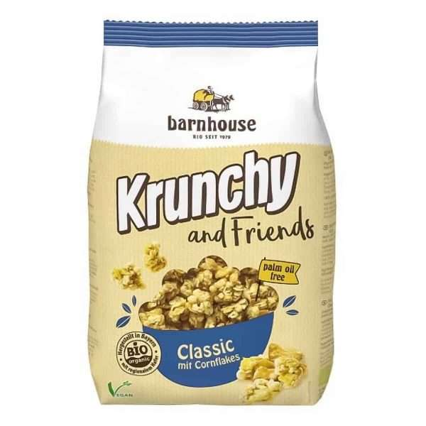 Muesli Krunchy and Friends Classic bio Barnhouse 500gr