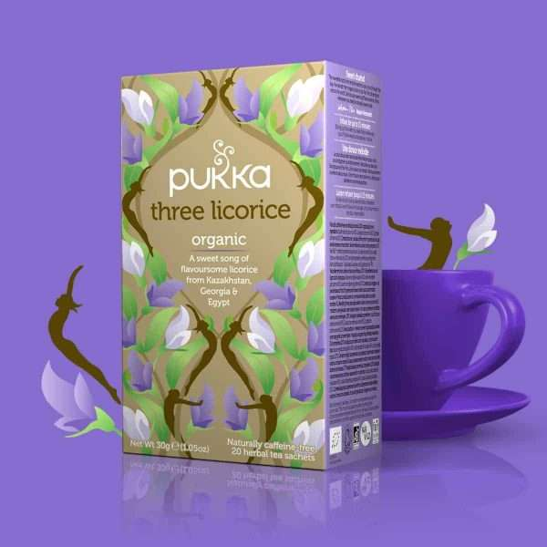 Infusion Tres Regalices Organic Three Liquorice Pukka