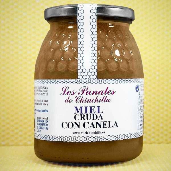 Miel Cruda Canela de Ceilán Panales de Chinchilla 1 Kg