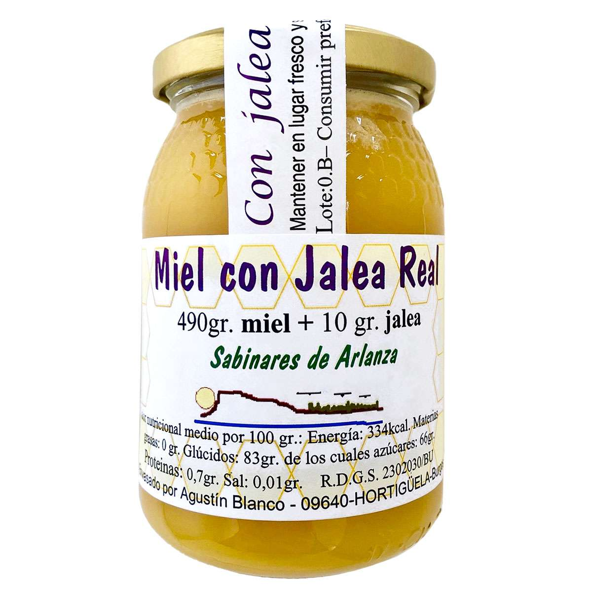 Miel con Jalea Real Sabinares de Arlanza 490g