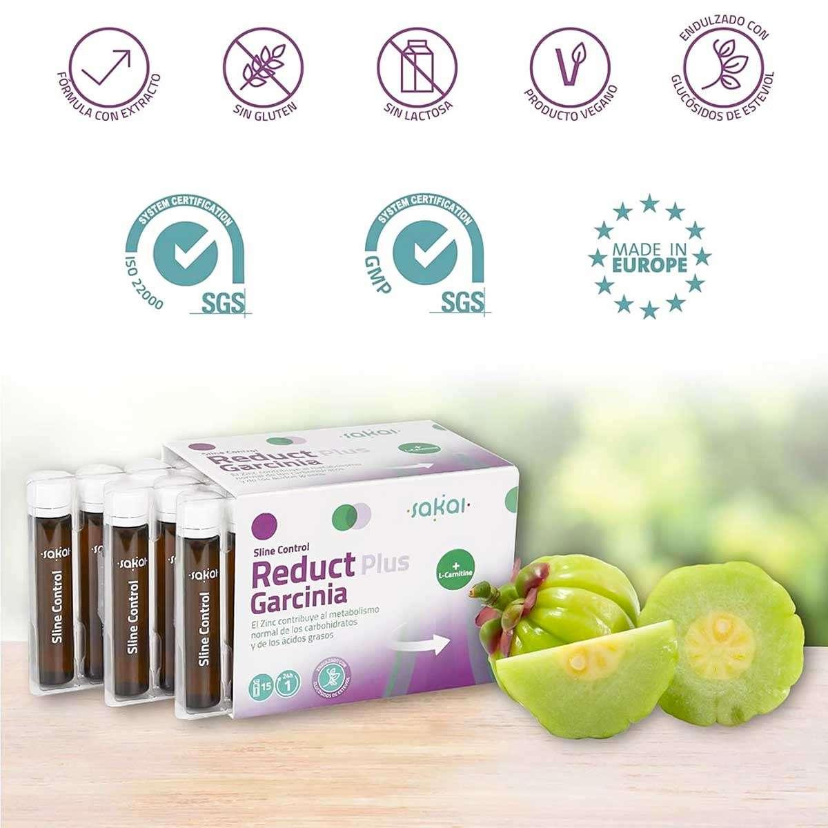 Sline Control Reduct Plus Garcinia Sakai 15 viales