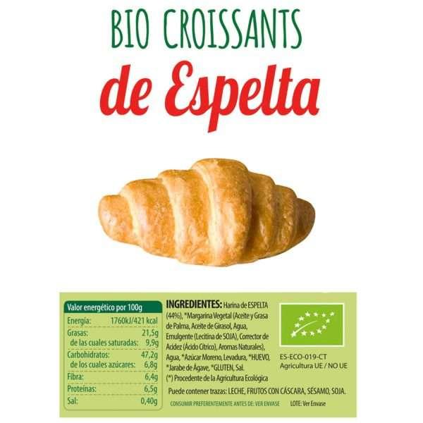 Croissants de Espelta bio Sol Natural 160g