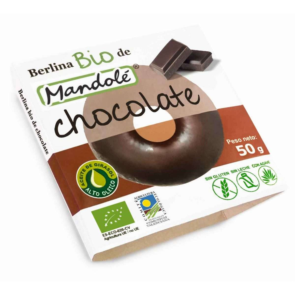 Donut Chocolate Sin gluten Mandole 50g