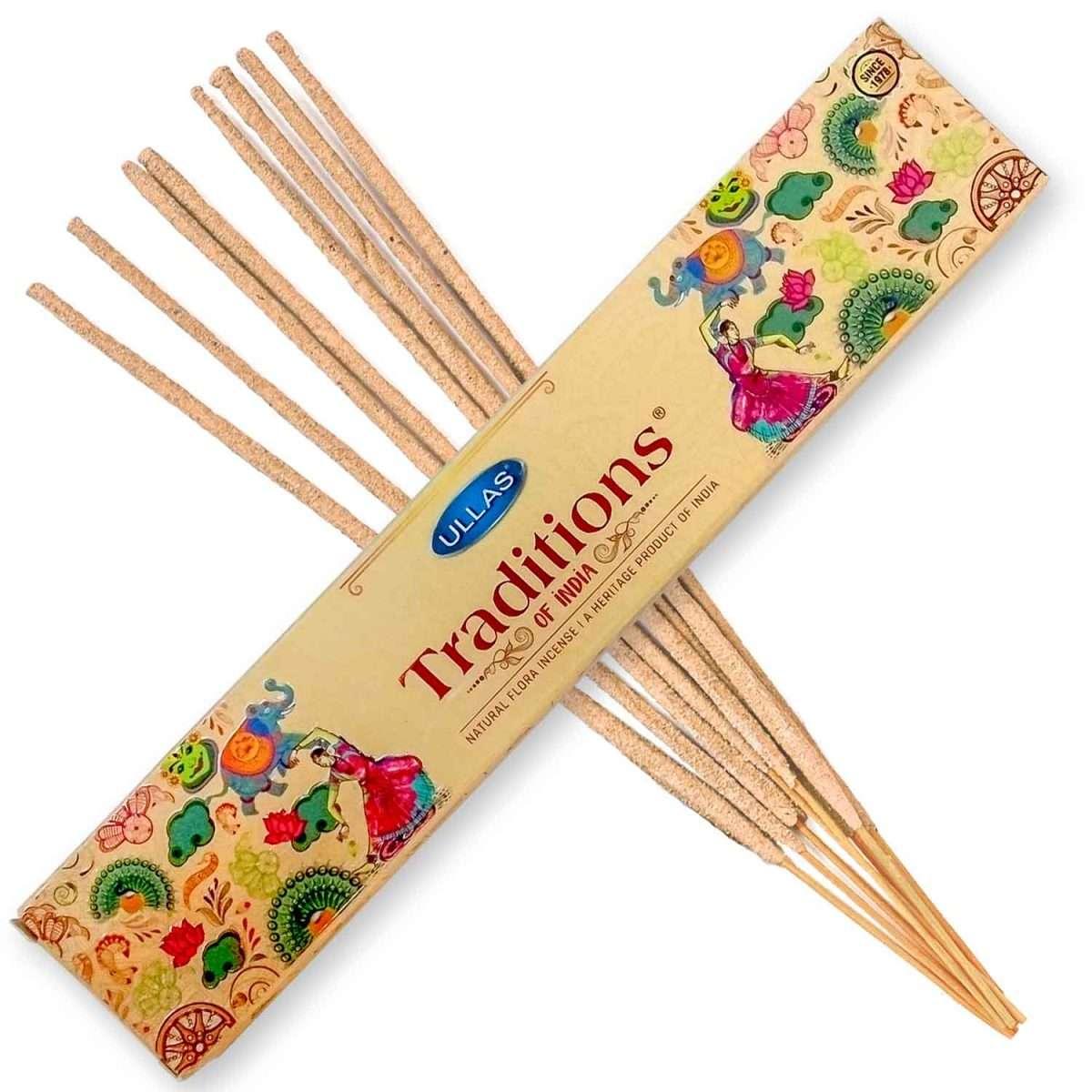 Ullas Traditions Incienso 15g