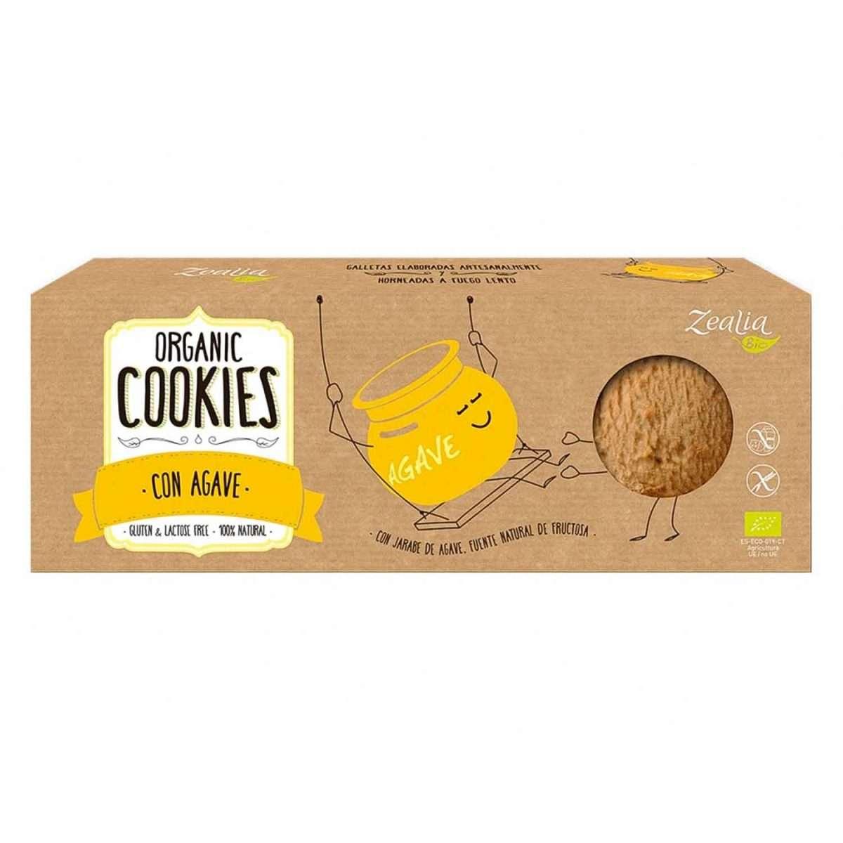 Cookies con Agave Sin Gluten Zealia 35g