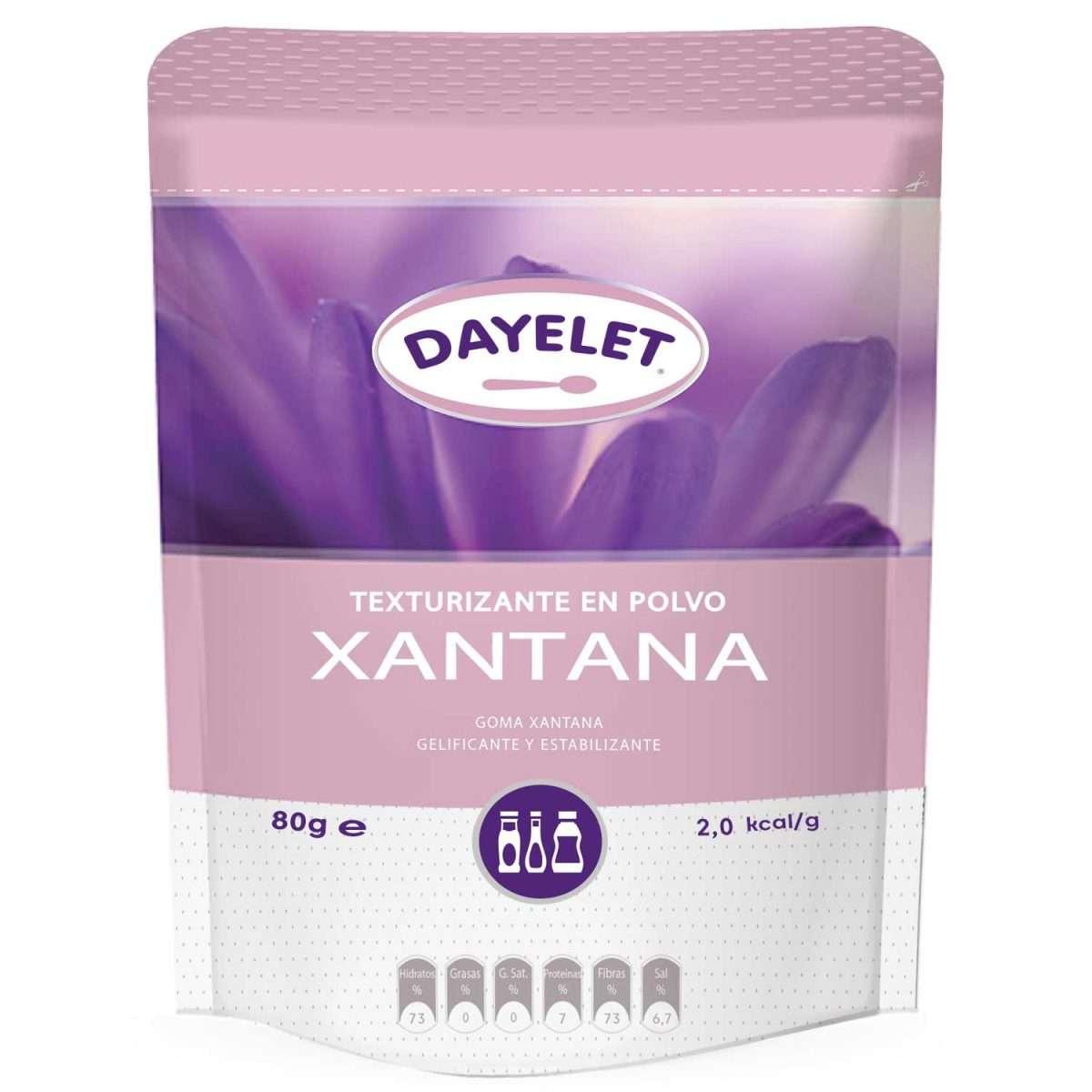 Goma Xantana Sin Gluten Dayelet 80 gr