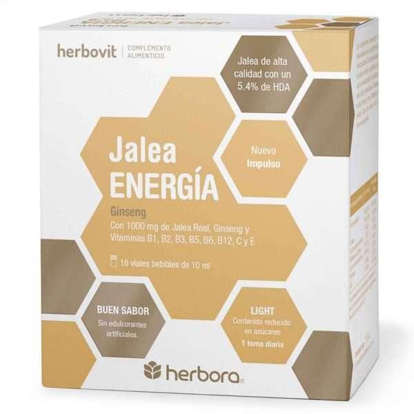 Herbovit Jalea Energía Herbora 16 viales