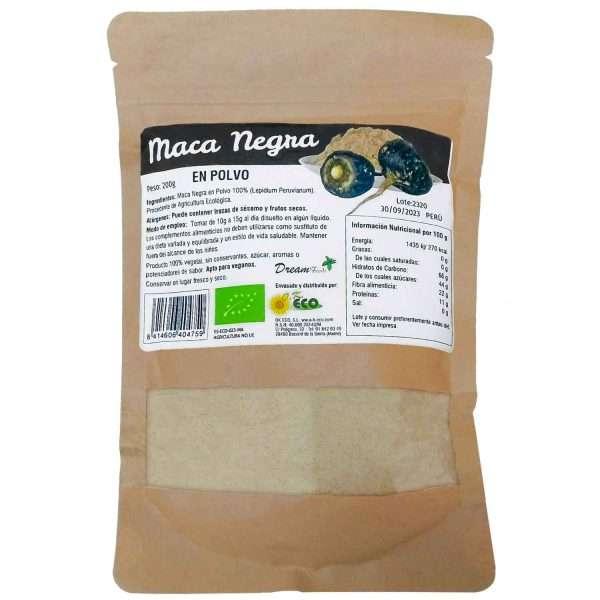 Maca Negra en Polvo Dream Foods 200g