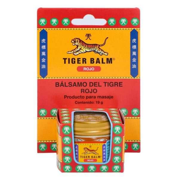 Bálsamo Tigre Rojo Tiger Balm 19 gr