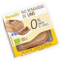 Pan de lino Sin Gluten Benelin 100gr